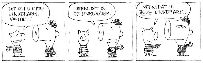 VK-013: Linkerarm (+)